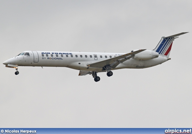 F-GUFD, Embraer ERJ-145-MR, Regional