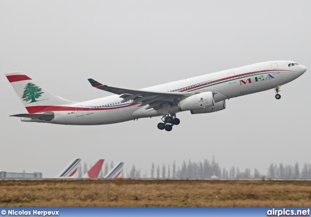 OD-MEC, Airbus A330-200, Middle East Airlines (MEA)