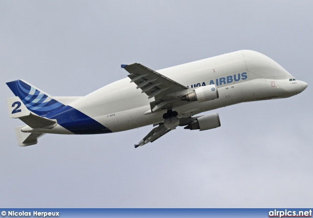 F-GSTB, Airbus A300B4-600ST Super Transporter , Airbus Industrie