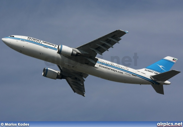 9K-AMC, Airbus A300B4-600R, Kuwait Airways