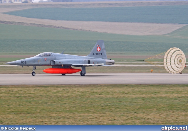 J-3033, Northrop F-5-E Tiger II, Swiss Air Force