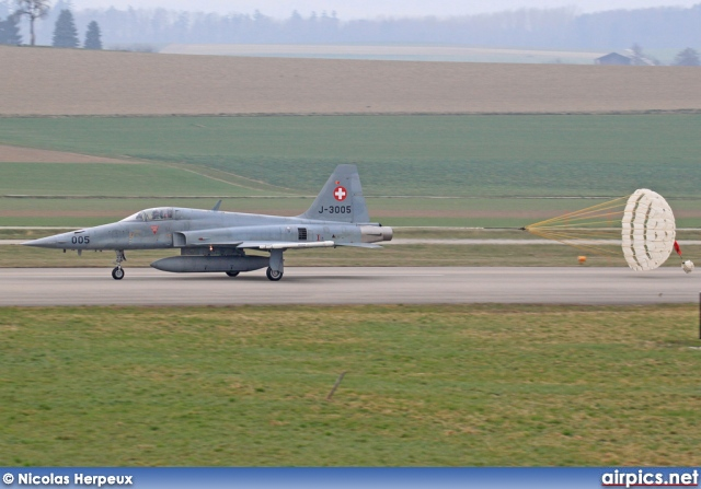 J-3005, Northrop F-5-E Tiger II, Swiss Air Force