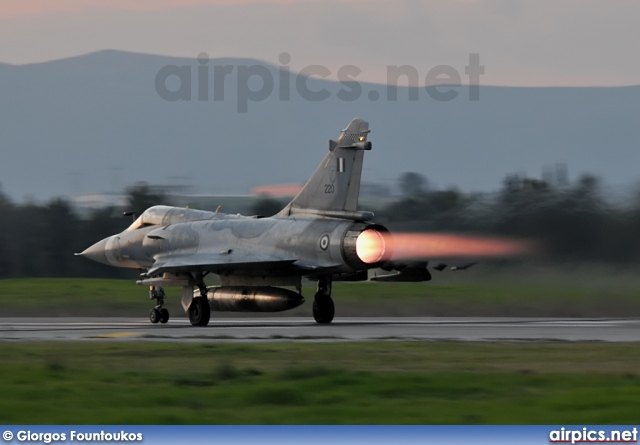220, Dassault Mirage 2000-EG, Hellenic Air Force