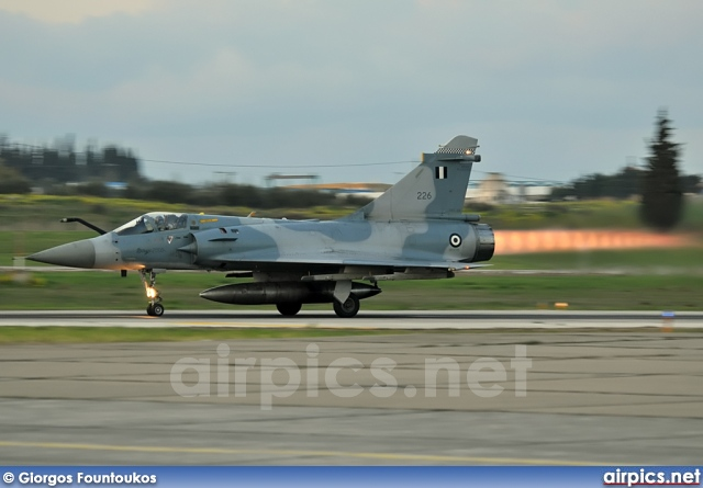 226, Dassault Mirage 2000-EG, Hellenic Air Force