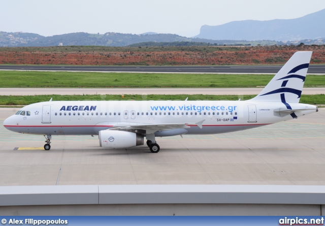 SX-OAP, Airbus A320-200, Aegean Airlines