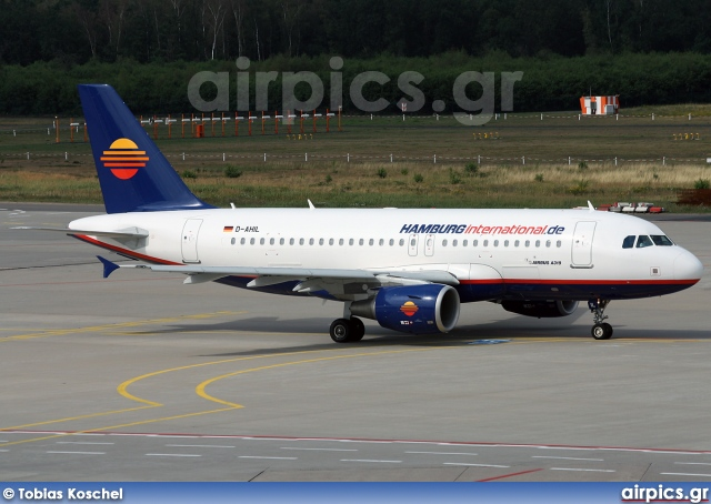 D-AHIL, Airbus A319-100, Hamburg International