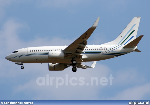 HL7227, Boeing 737-700/BBJ, Untitled