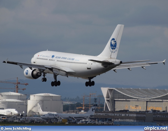 TC-SGC, Airbus A310-300, Ariana Afghan Airlines