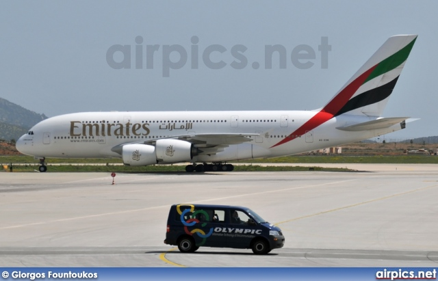 A6-EDK, Airbus A380-800, Emirates