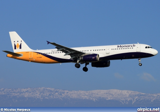 G-OZBN, Airbus A321-200, Monarch Airlines