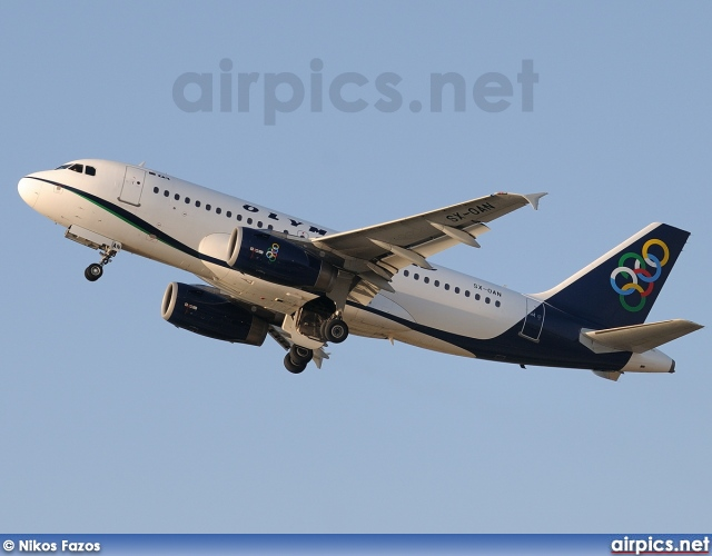 SX-OAN, Airbus A319-100LR, Olympic Air