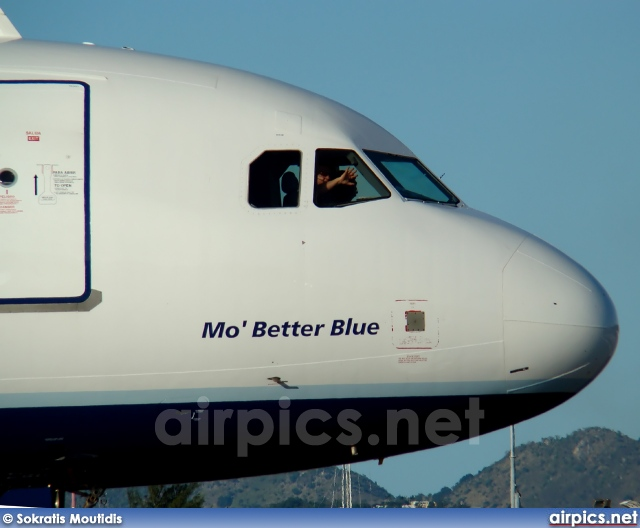 N580JB, Airbus A320-200, JetBlue Airways
