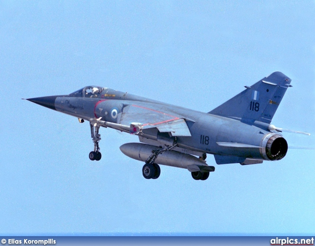 Dassault Mirage F.1-CG, Hellenic Air Force