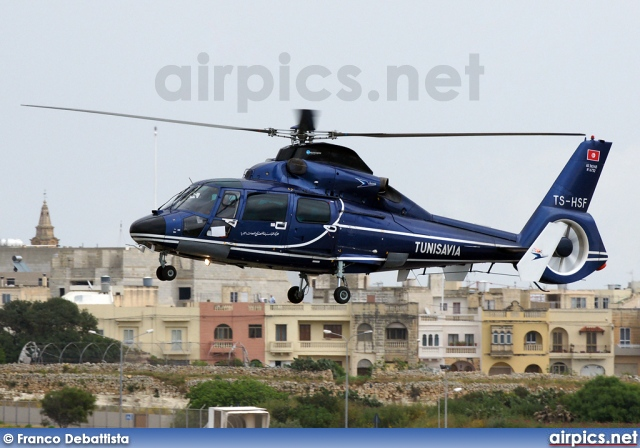 TS-HSF, Aerospatiale (Eurocopter) AS 365-N2 Dauphin, Tunisavia