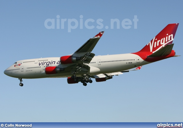 G-VWOW, Boeing 747-400, Virgin Atlantic