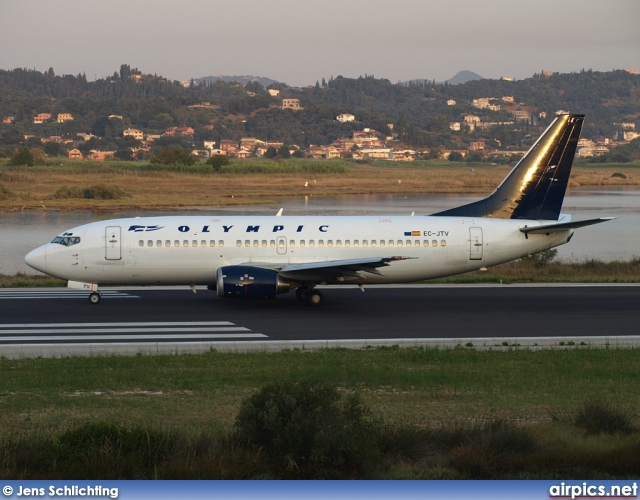 EC-JTV, Boeing 737-300, Olympic Airlines