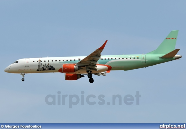 UR-WRG, Embraer ERJ 190-200IGW (Embraer 195), Wind Rose Aviation