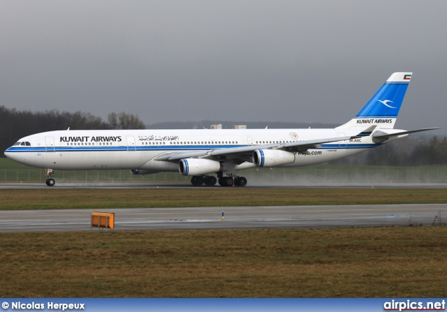 9K-ANC, Airbus A340-300, Kuwait Airways