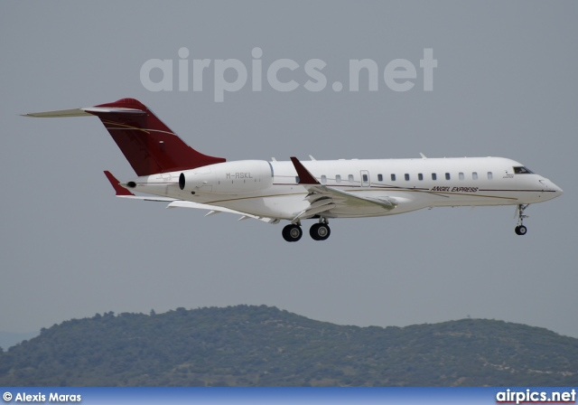 M-RSKL, Bombardier Global Express, Angel Aviation
