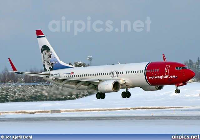 LN-NOM, Boeing 737-800, Norwegian Air Shuttle