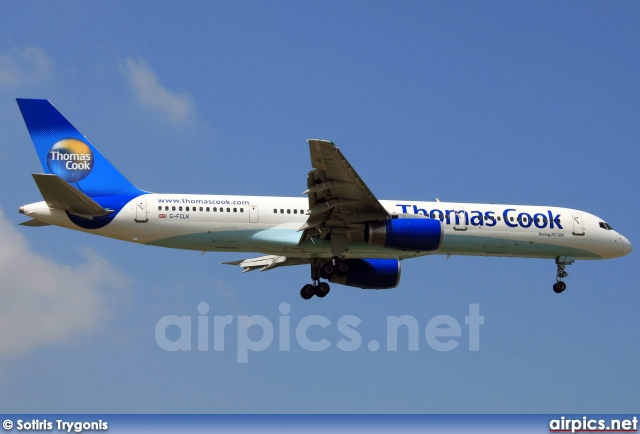 G-FCLK, Boeing 757-200, Thomas Cook Airlines
