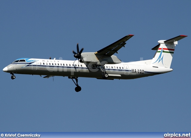 HA-LQD, De Havilland Canada DHC-8-400Q Dash 8, MALEV Hungarian Airlines