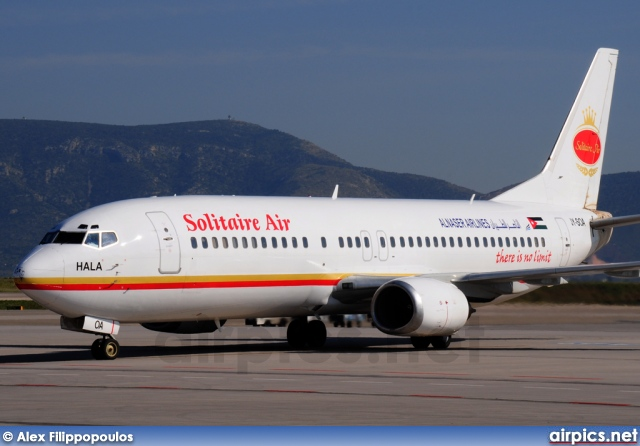JY-SOA, Boeing 737-400, Solitaire Air