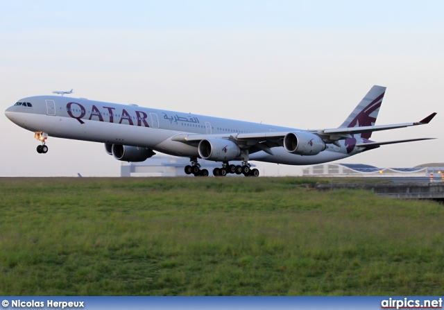A7-AGD, Airbus A340-600, Qatar Airways