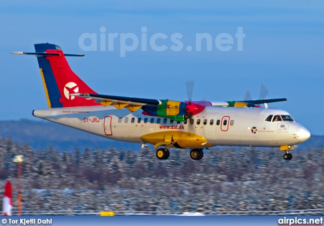 OY-JRJ, ATR 42-320, Danish Air Transport