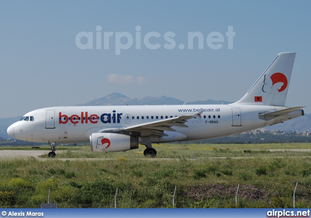 F-ORAG, Airbus A319-100, Belle Air