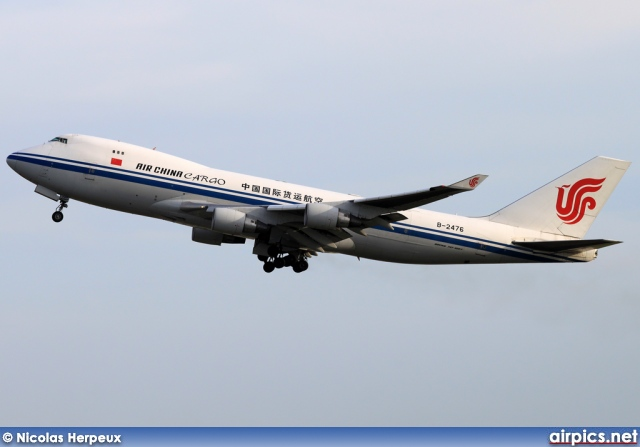 B-2476, Boeing 747-400F(SCD), Air China Cargo