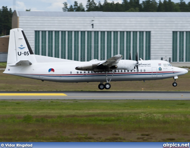 U-05, Fokker 50, Royal Netherlands Air Force