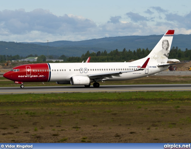 LN-NOD, Boeing 737-800, Norwegian Air Shuttle