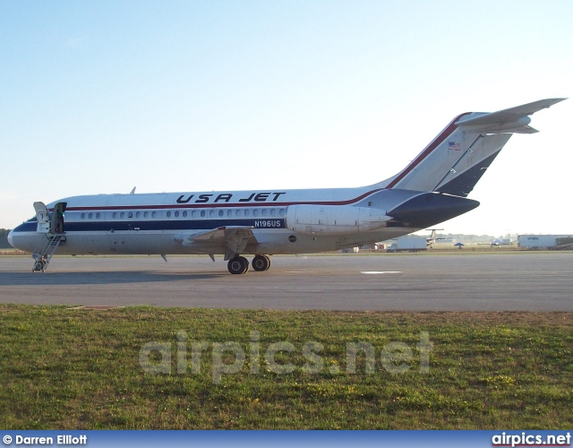 N196US, Douglas DC-9-15RC, USA Jet Airlines