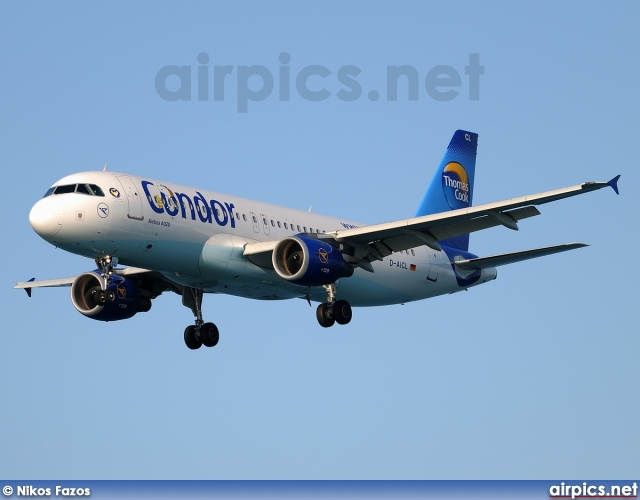 D-AICL, Airbus A320-200, Condor Airlines