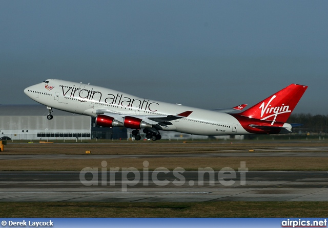 G-VAST, Boeing 747-400, Virgin Atlantic