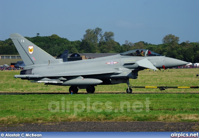 ZK316, Eurofighter Typhoon-FGR.4, Royal Air Force