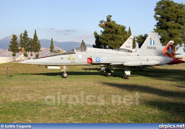 69209, Northrop F-5-A Freedom Fighter, Hellenic Air Force