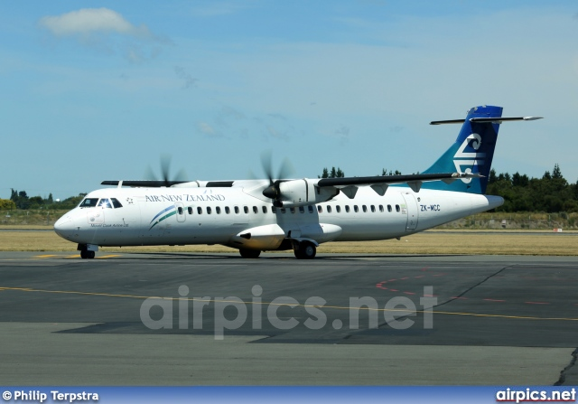 ZK-MCC, ATR 72-500, Air New Zealand