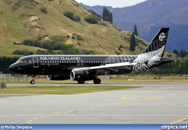 ZK-OJR, Airbus A320-200, Air New Zealand