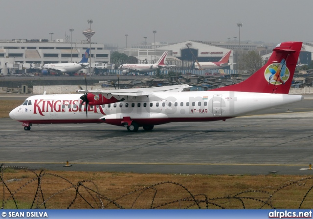 VT-KAQ, ATR 72-500, Kingfisher Airlines