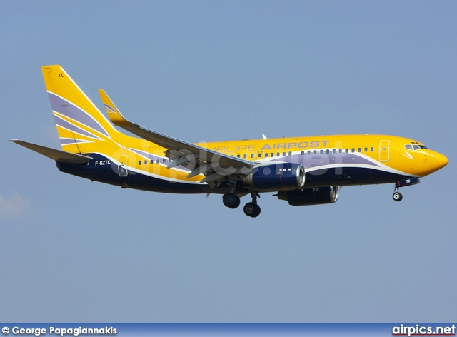 F-GZTC, Boeing 737-700, Europe Airpost