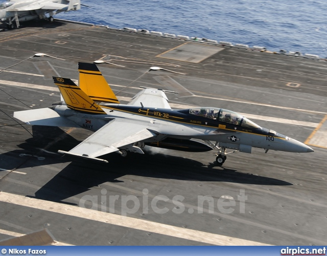 166661, Boeing (McDonnell Douglas) F/A-18-F Super hornet, United States Navy