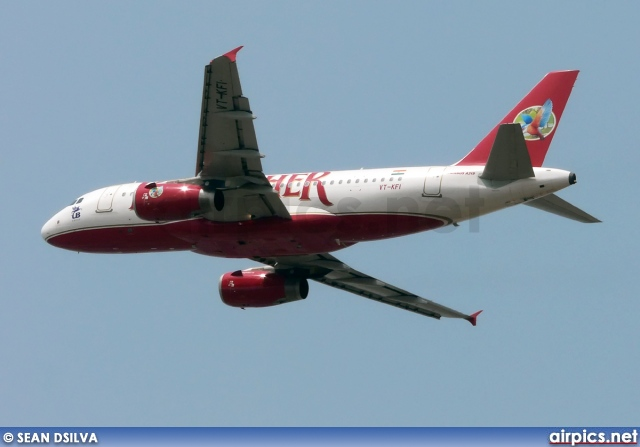 VT-KFI, Airbus A319-100, Kingfisher Airlines