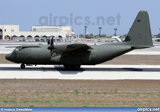 ZH885, Lockheed C-130-J-30 Hercules, Royal Air Force