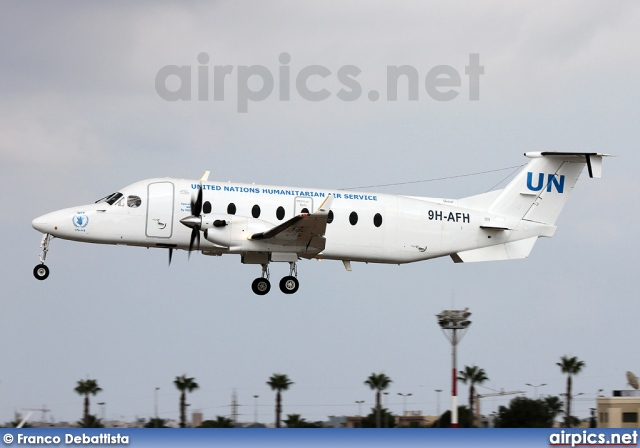 9H-AFH, Beechcraft 1900-D, United Nations