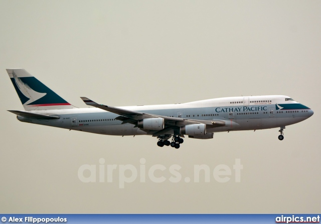 B-HUE, Boeing 747-400, Cathay Pacific