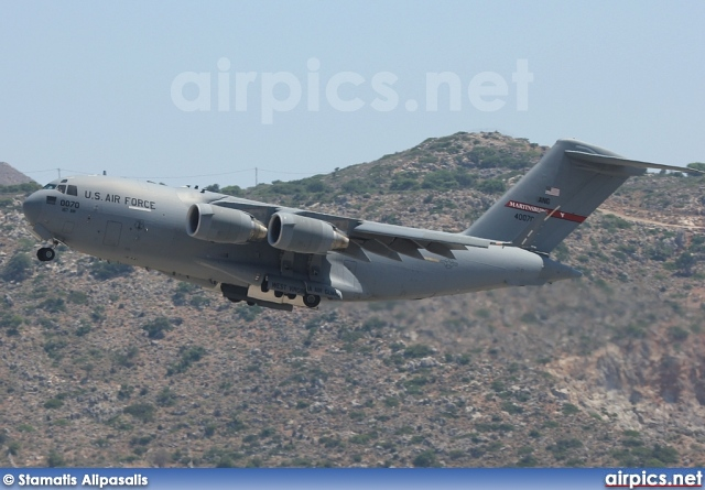94-0070, Boeing C-17-A Globemaster III, United States Air Force