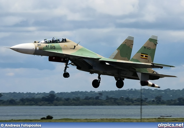 AF-015, Sukhoi Su-30-MKI, Ugandan Air Force