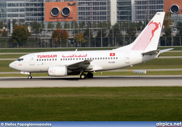 TS-ION, Boeing 737-600, Tunis Air
